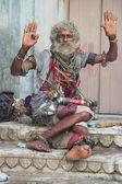 Renkli Hindistan dilenci — Stok fotoğraf