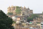 City palace udaipur rajasthan india — Stok fotoğraf