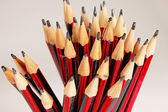 A display of a group of pencils — Stock Photo