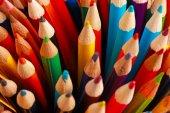 Un display delle matite colorate — Foto Stock