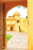 Enchanting Nahargarh fort jaipur rajasthan india — Stock Photo
