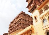 Magical Mehrangarh Fort, Jodhpur, Rajasthan,india — Stock Photo