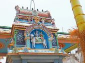 Colorful shrine and temple india — Stockfoto