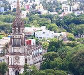 Our Lady of Lourdes Church, Tiruchirappalli,trichy tamil nadu in — Stock Photo
