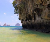 Islands off yao noi island thailand — Стоковое фото