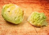 Isolated lettuce head  — Foto Stock