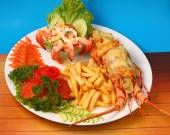 Lobster thermidor — Stock Photo