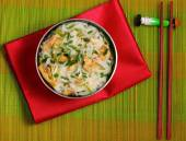 Hanoi pho chicken noodle soup — Stockfoto