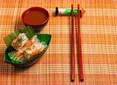 Vietnam wafer spring rolls — Stock Photo