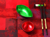 Traditional Vietnam table setting — Stock Photo