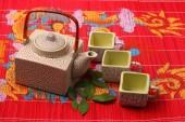 Set da tè asiatici — Foto Stock