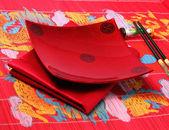 Traditionele vietnam tabel setting — Stockfoto