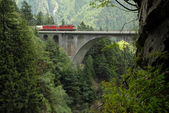 Meienreuss Bridge in  Wassen UR, Switzerland — Stock Photo
