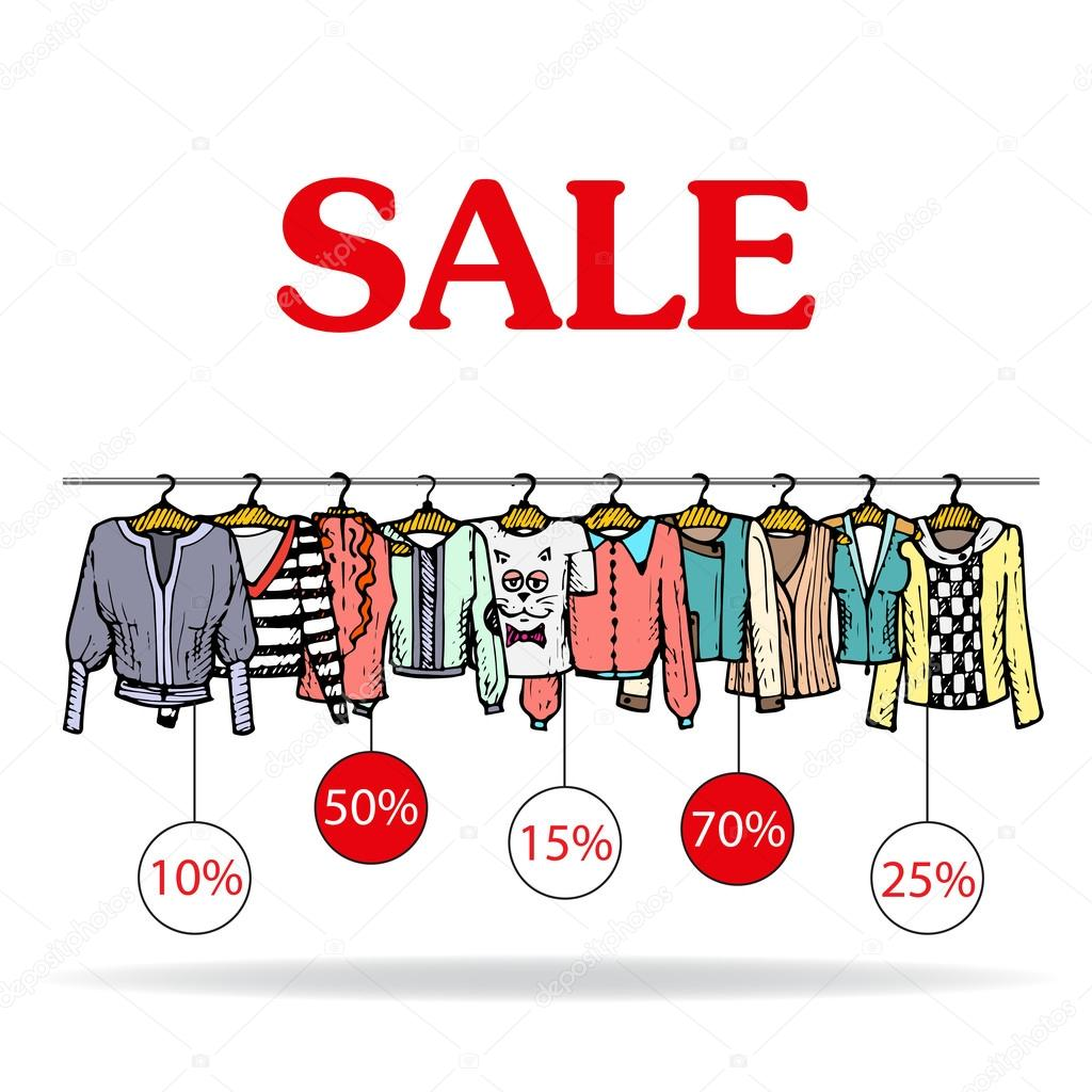 Online sales clothes