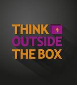 Creative thinking — Stock Vector