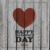 Happy Valentines Day Texture Background — Stock Vector