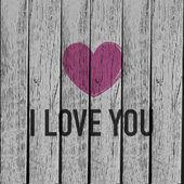 Ik hou van jou — Stockvector