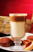 Capuchino coffe — Stock Photo