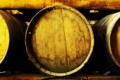 Wine barrels — Stockfoto