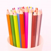 Coloured pencil — Stock Photo