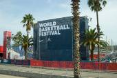 World Basketball Festival At Barcelona — Stock Photo