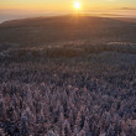 Winter mountains sunrise — Stock Photo #64757793