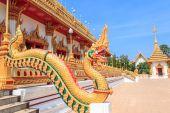 Serpent in Phra Mahathat Kaen Nakhon — Stok fotoğraf