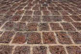 Old laterite ground ,Tiled Pavement — Stock Photo