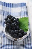 Dark grapes — Stock Photo