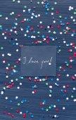 I love you! card — Stock Photo