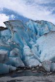 Nigardsbreen is a glacier in Norway. — Stock Photo