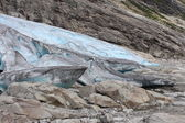 Nigardsbreen is a glacier in Norway. — Stock Photo