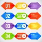 Modern infographics element — Stock Vector #69222403