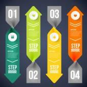 Modern infographics element — Stock Vector
