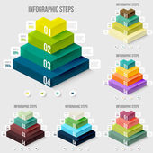 Modern infographics elements — Stock Vector