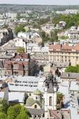 View of architecture in Lviv — Stock Photo