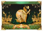550th anniversary of Kazakhstan — Stock Vector