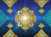 Kazakh ornament — Cтоковый вектор