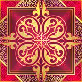Ornament, oriental style — Stock Vector