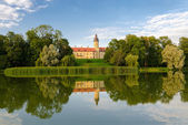 Belarus, Nesvizh Castle — Stock Photo
