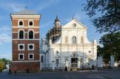 Belarus, Nesvizh, Corpus Christi Church — Stock Photo