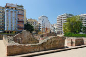 Greece, Thessaloniki. The ruins of the palace of the Roman Emper — Stock Photo