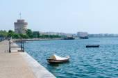 Greece, Thessaloniki, waterfront — Stock Photo
