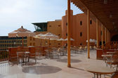 Egypt, Taba, Intercontinental Taba Heights Resort 5. The upper terrace, the output from the lobby bar — Stock Photo