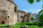 Greece, Thessaloniki, tomb of Roman emperor Galerius  — Stock Photo