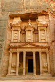 Jordan, Petra. Treasury — Stock Photo