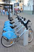 Automated bike rental system in Kazan — Stock Photo