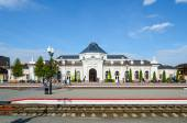 Railway station in Mogilev, Belarus — Stock Photo