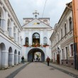 Chapel with Our Lady of Gate of Dawn at Holy Gate (Gate of Dawn), Vilnius, Lithuania — Stock Photo #78122414