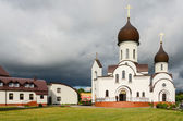 Church in honor of Protection of Mother of God and in name of Saint Nicholas (Pokrovo- Nicholas Church) — Stock Photo